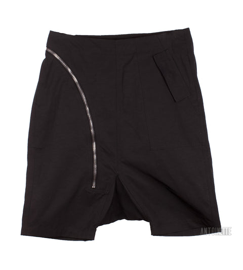 Rick Owens Black Aircut Shorts