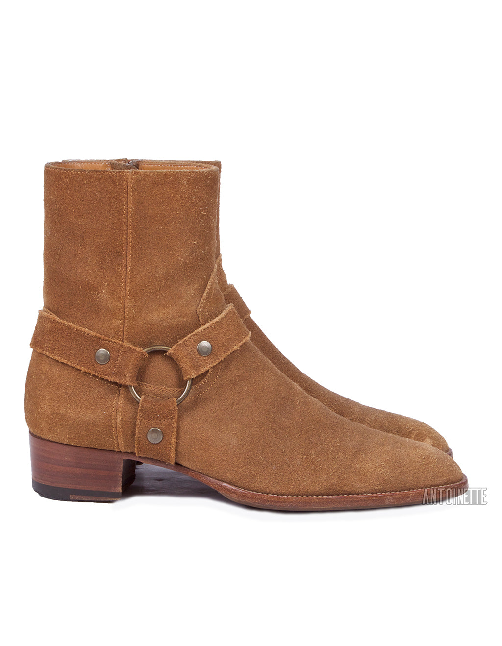 Saint Laurent Siegro Wyatt Harness Boots