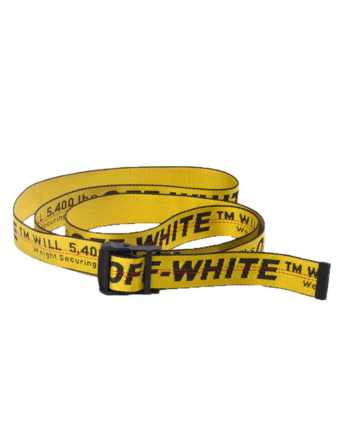 Off-White Yellow/Black Classic Industrial Belt