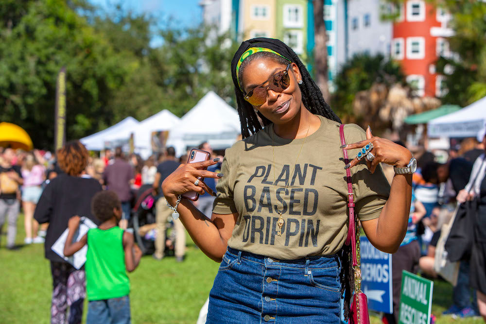 Plant Based Drippin - Ladies Tee