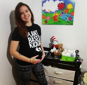 Open image in slideshow, Plant Based Kickin- Ladies Tee