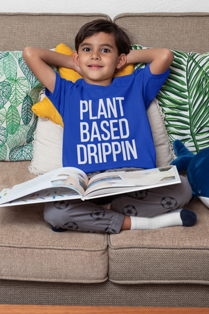 Open image in slideshow, Plant Based Drippin - Kids Tee