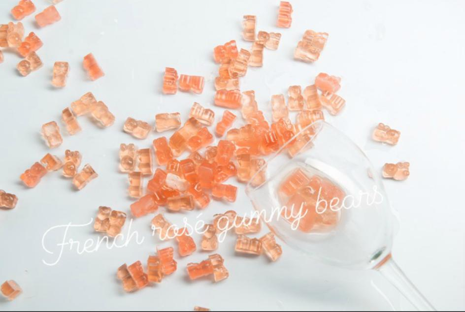 French Rosé Gummy Bears - 2 Boxes