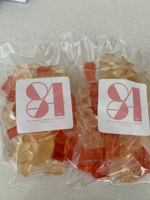 French Rosé Gummy Bears - Twin pack