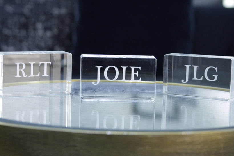 Acrylic Blocks