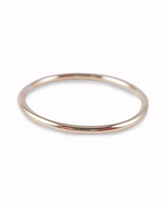 Itty Bitty - Gold Fill Toe Ring | www.TwinkleToeRings.com