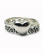 Swirl/Heart Single Stack