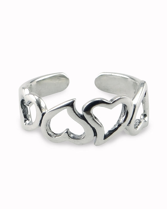 Adjustable Toe Rings | Sweethearts