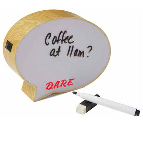 Light-Up Speech Bubble