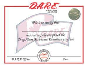 Canadian Graduation Certificate - Red Trim