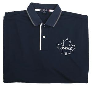 Canadian Dry Mesh Polo Navy