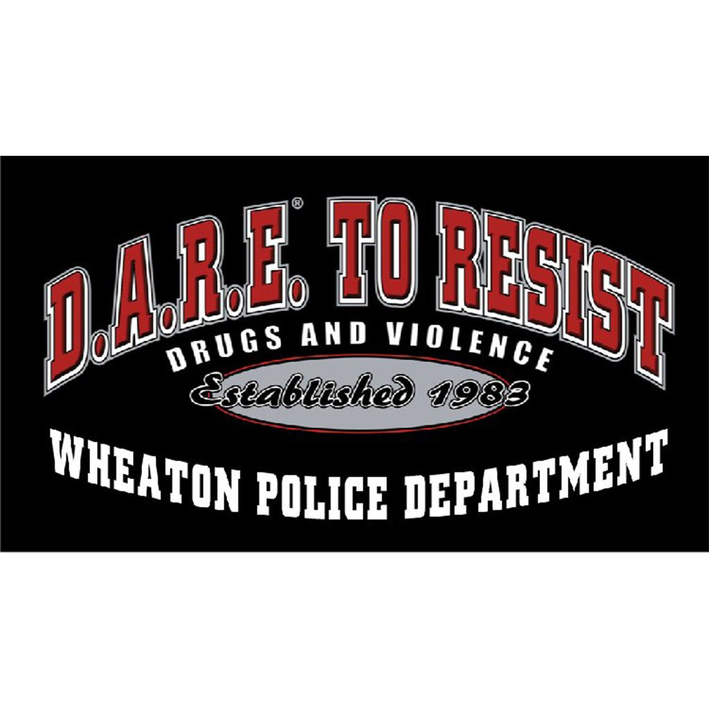 DARE to Resist Vinyl Decal - Dark Color Vehicle w/1 Color Custom