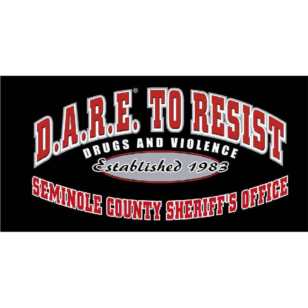 DARE to Resist Vinyl Decal - Dark Color Vehicle w/2 Color Custom