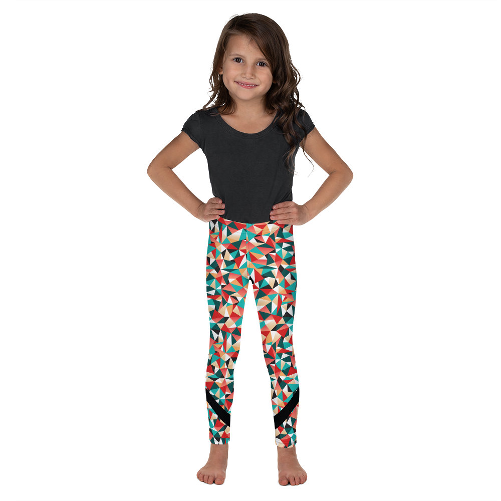 Kid's Kaleidoscope Yoga Leggings