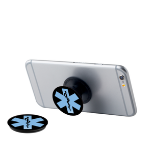 EMS Symbol Pop Up Phone Grip - Black