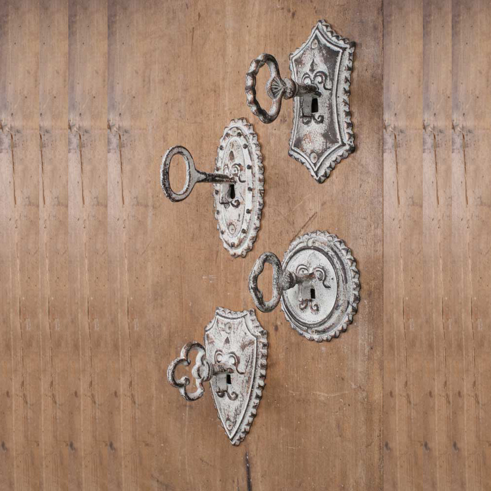 Antique Style Door Key Hooks, Antique Style Farmhouse Hooks, Vintage Style Hooks