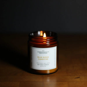 Blue Ridge Campfire Candle