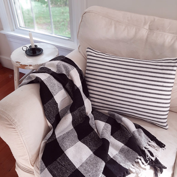 https://farmhousewares.com/collections/vintage-cabin-retreat/products/black-and-white-buffalo-check-throw