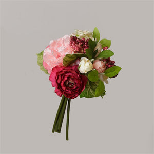 Cabbage Roses, Peony and Camellia Bouquet