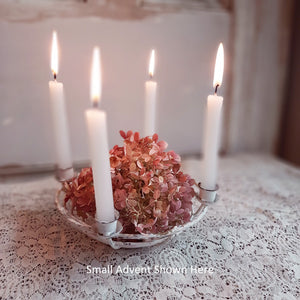 Small Advent Candle Holder shown here