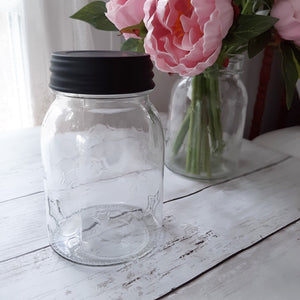 Clear Star Mason Jar