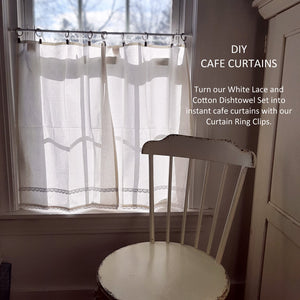 Dishtowel Cafe Curtains