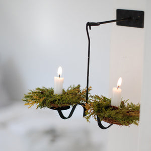 Forest Pine Candle Ring, Set of Two