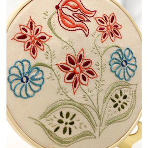 Embroidery Kit, Pennsylvania Posy