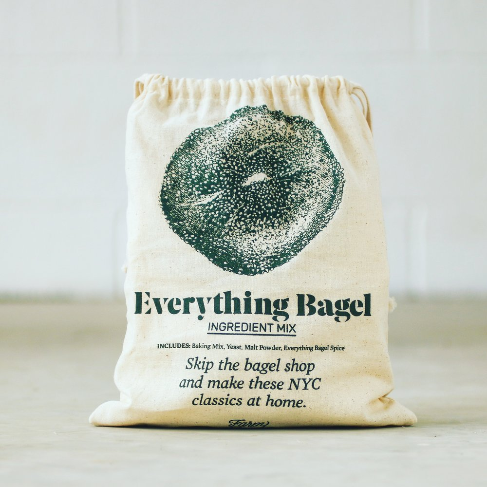 Everything Bagel Baking Mix Kit
