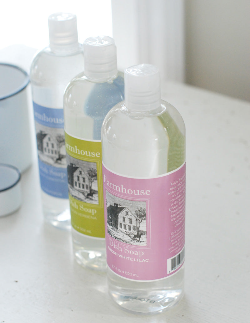 Farmhouse Liquid Dish Soap by Sweet Grass Farm