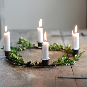 Taper Candle Centerpiece Ring