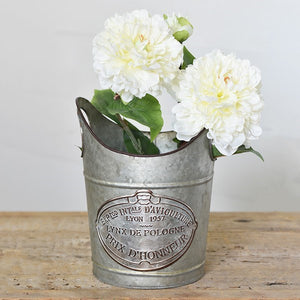 Galvanized French Champagne Bucket