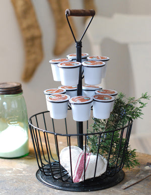 Wire Basket K-Cup Holder