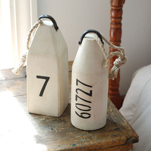 Nautical Buoys with Numbers