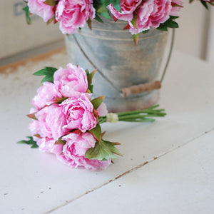 Peony Bunch in Pink