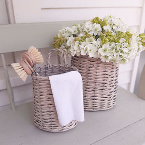 Plymouth Wall Basket, Wide