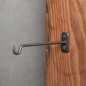 Rusted Iron Wall Hook