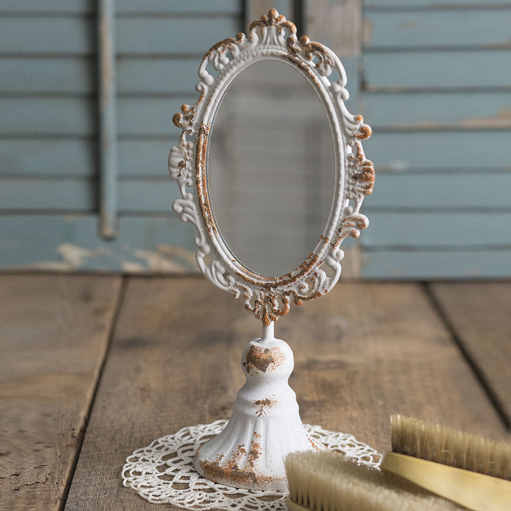 Shabby Chic Tabletop Mirror