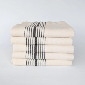 Rockport Black Stripe Turkish Towel