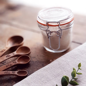 Delicious in hot chocolate, coffee or tea, sprinkled on toast or scones, or ice cream, this Organic Vanilla Bean Sugar is a sweet treat. Spotted with gorgeous specks of vanilla bean throughout, each vintage style jar contains pieces of the actual vanilla pod to continue flavor enhancement over time. The possibilities are endless. Makes for a beautiful gift.