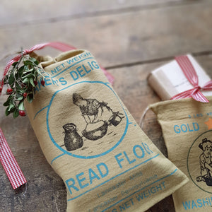 Vintage Style Flour and Soap Sacks