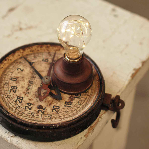 Vintage Style Light Bulb and Socket Base