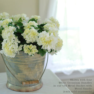 White Geranium Bundle