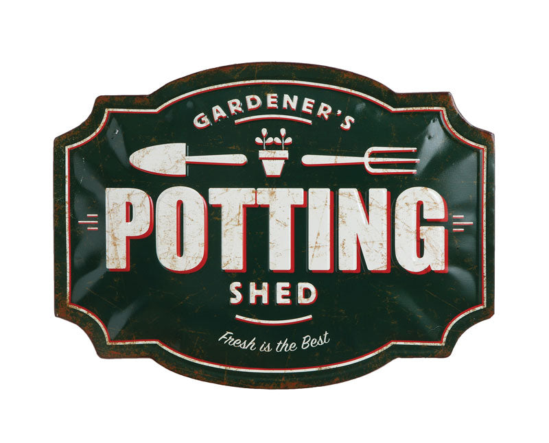 Gardener's Potting Shed Sign