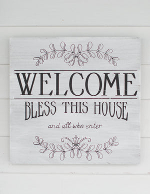 Welcome Bless This House Picture