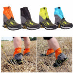 1 Pair Of Hiking Waterproof Gaiters