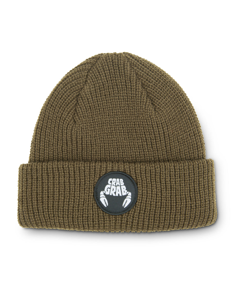Circle Patch Beanie