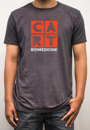 Short sleeve t-shirt - biomedicine white/red