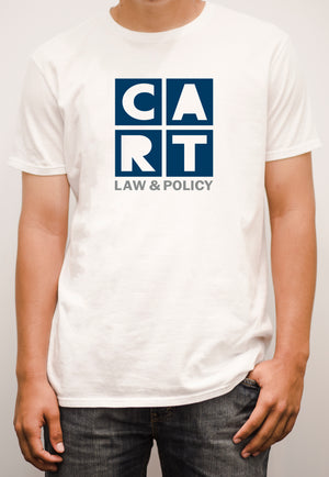 Short sleeve t-shirt - law & policy grey/blue