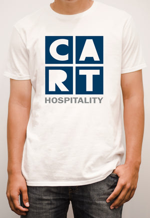 Short sleeve t-shirt - hospitality grey/blue